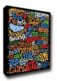 John Lennon Imagine Lyrics Art Canvas